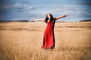 Beautiful-Ecstatic-Woman